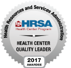 HRSA - Health Center Quality Leader 2017