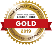 2019 GOLD AWARD Cholesterol